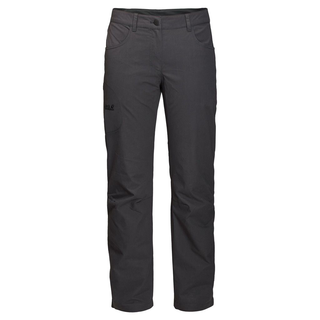 Jack Wolfskin Rainfall Pants Grau, Female Hose, 42