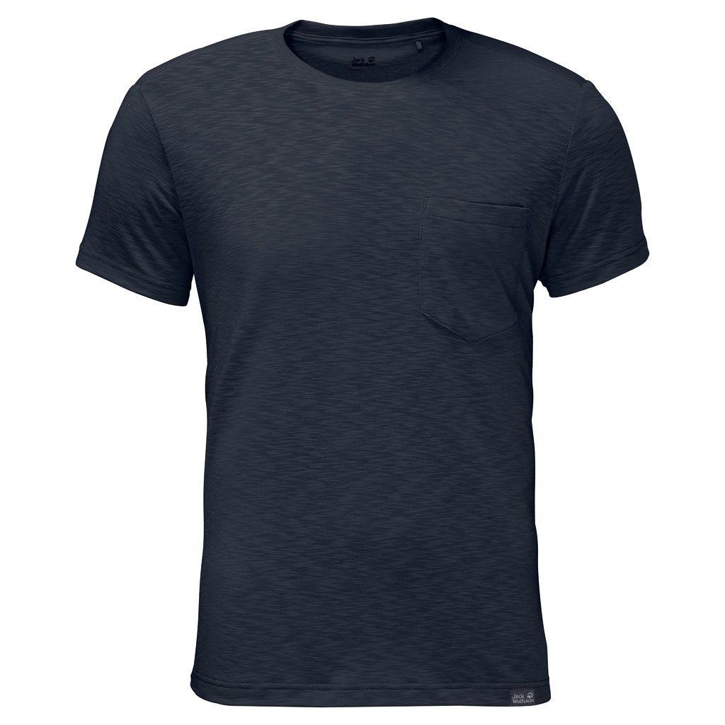Jack Wolfskin M Travel T   Herren Kurzarm-Shirt