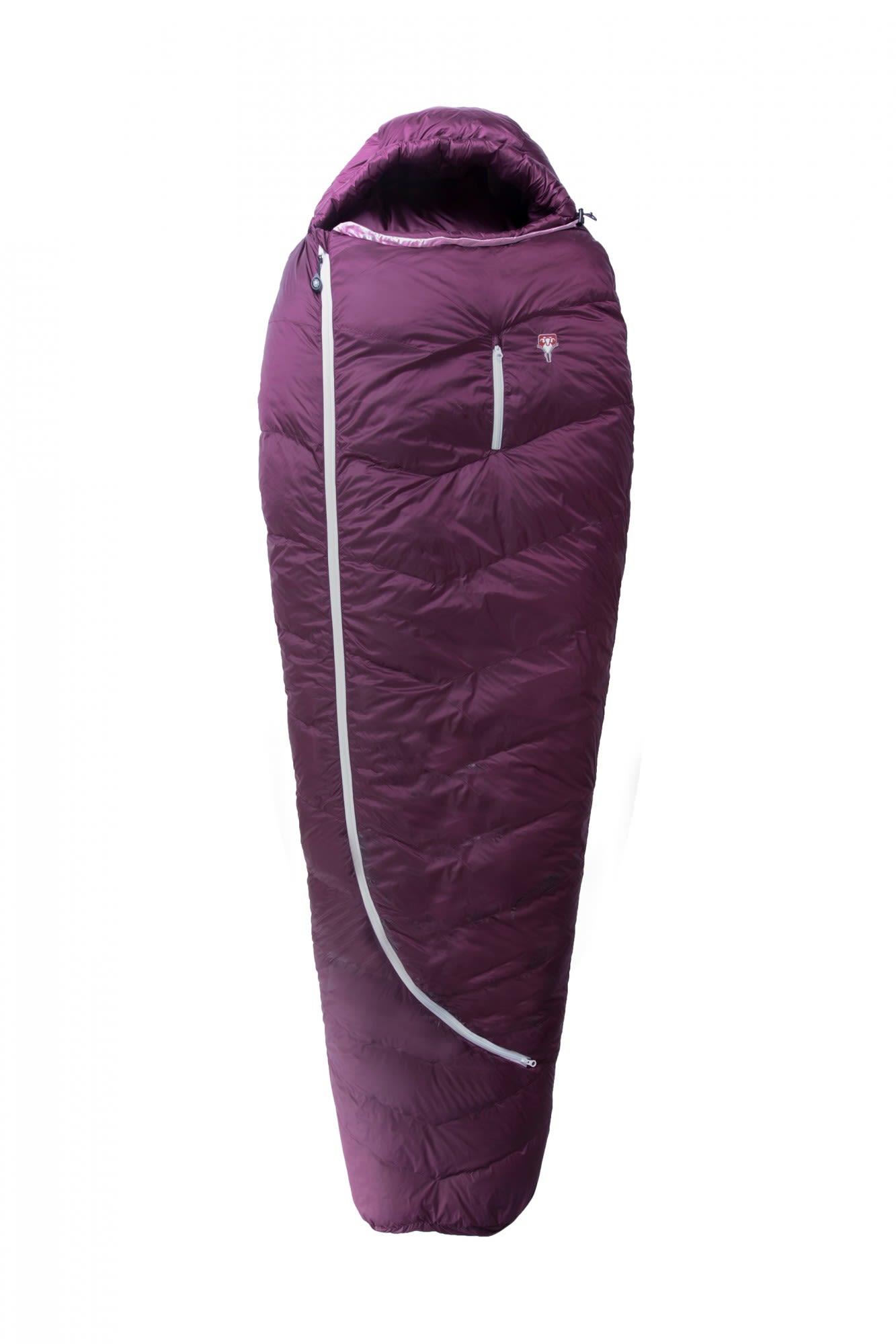 Grüezi Bag Biopod Downwool Subzero 175 Lila/Violett, Female Daunen Daunenschlaf