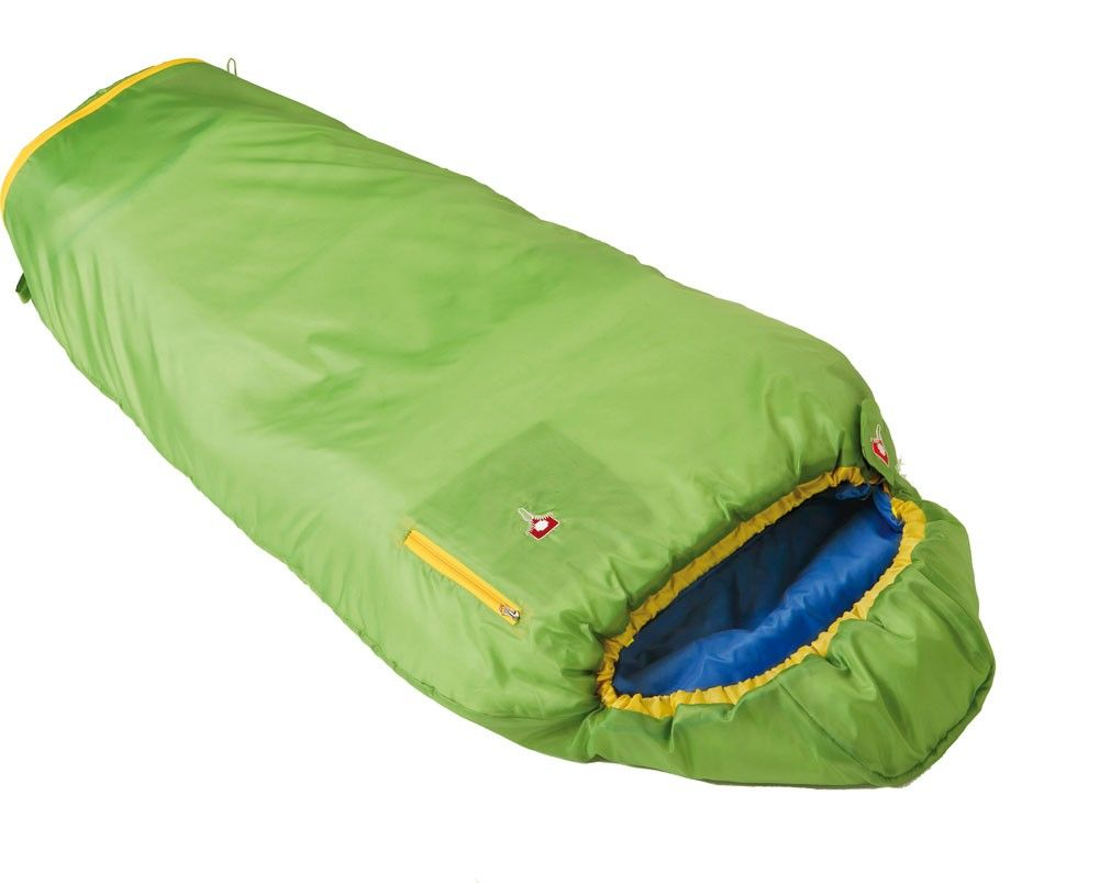 Grüezi Bag Kids Grow Colorful Grün, 180 cm RV rechts -Farbe Apple, 180 cm RV r