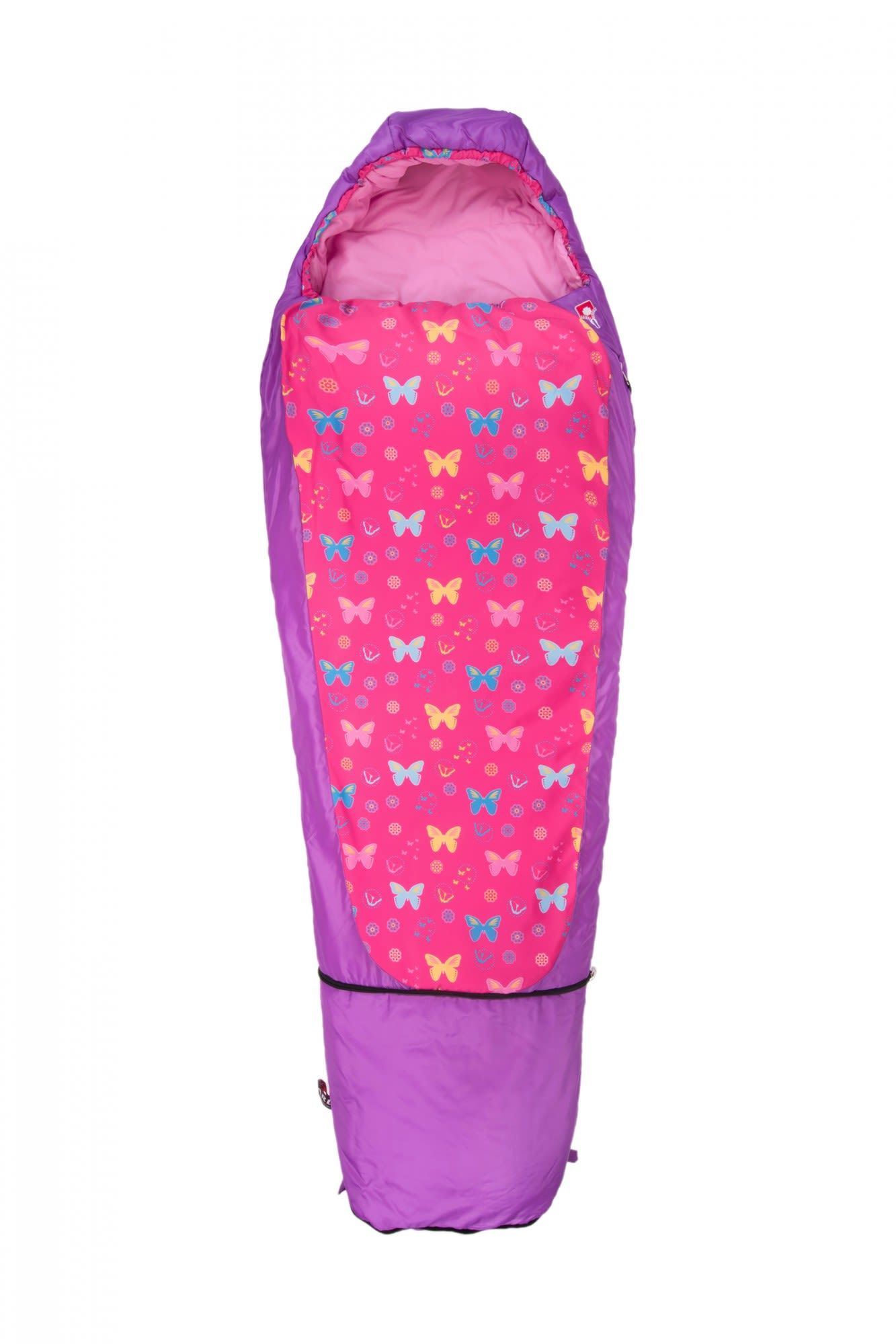Grüezi Bag Kids Grow Butterfly Lila/Violett, 180 cm RV links -Farbe Purple, 180