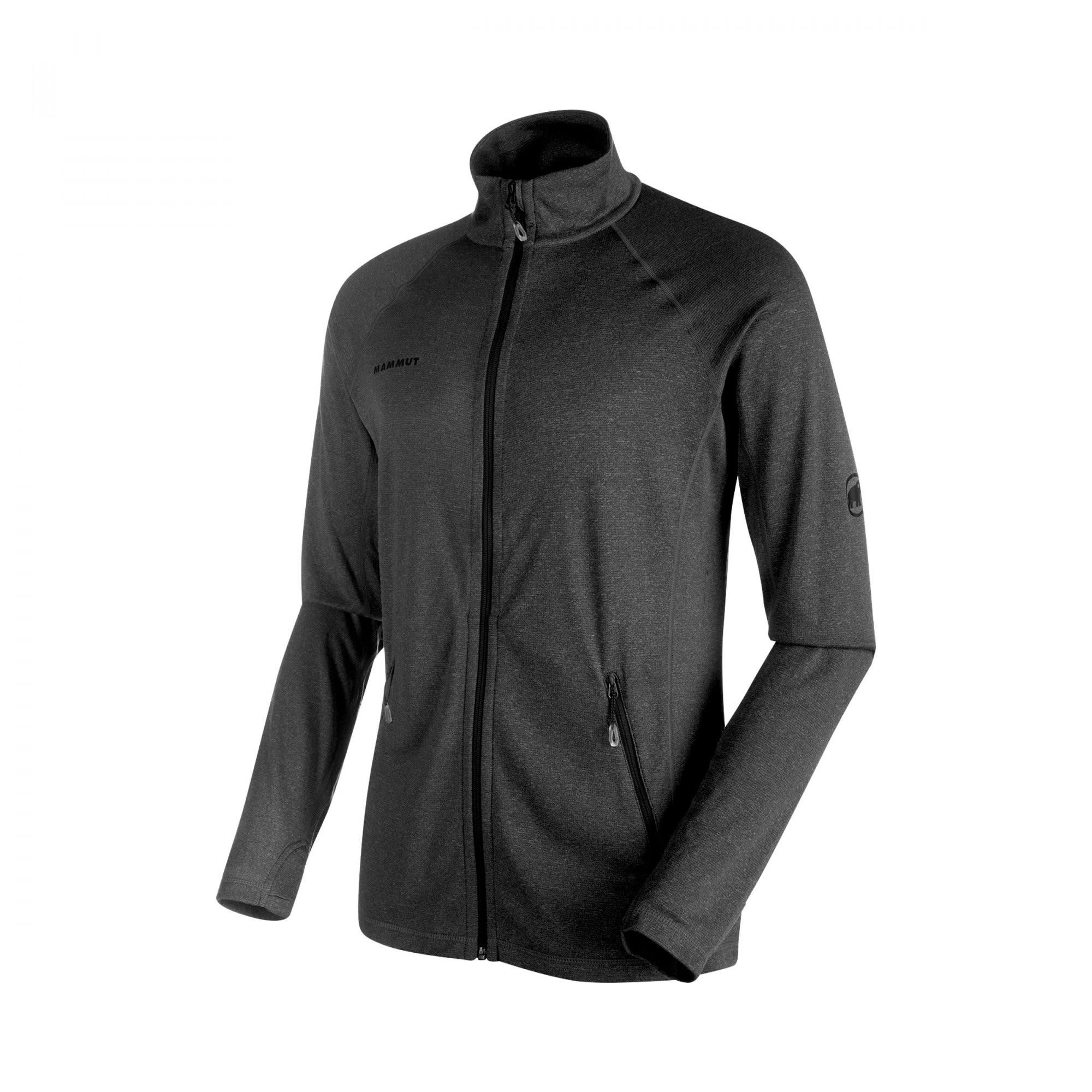 Mammut Runbold Light ML Jacket Grau, Male Polartec® Freizeitjacke, L