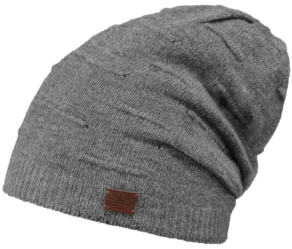 Barts Timber Beanie Grau, Female Accessoires, One Size