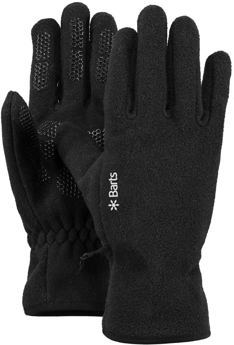 Barts Fleece Gloves Schwarz, Female Accessoires, S