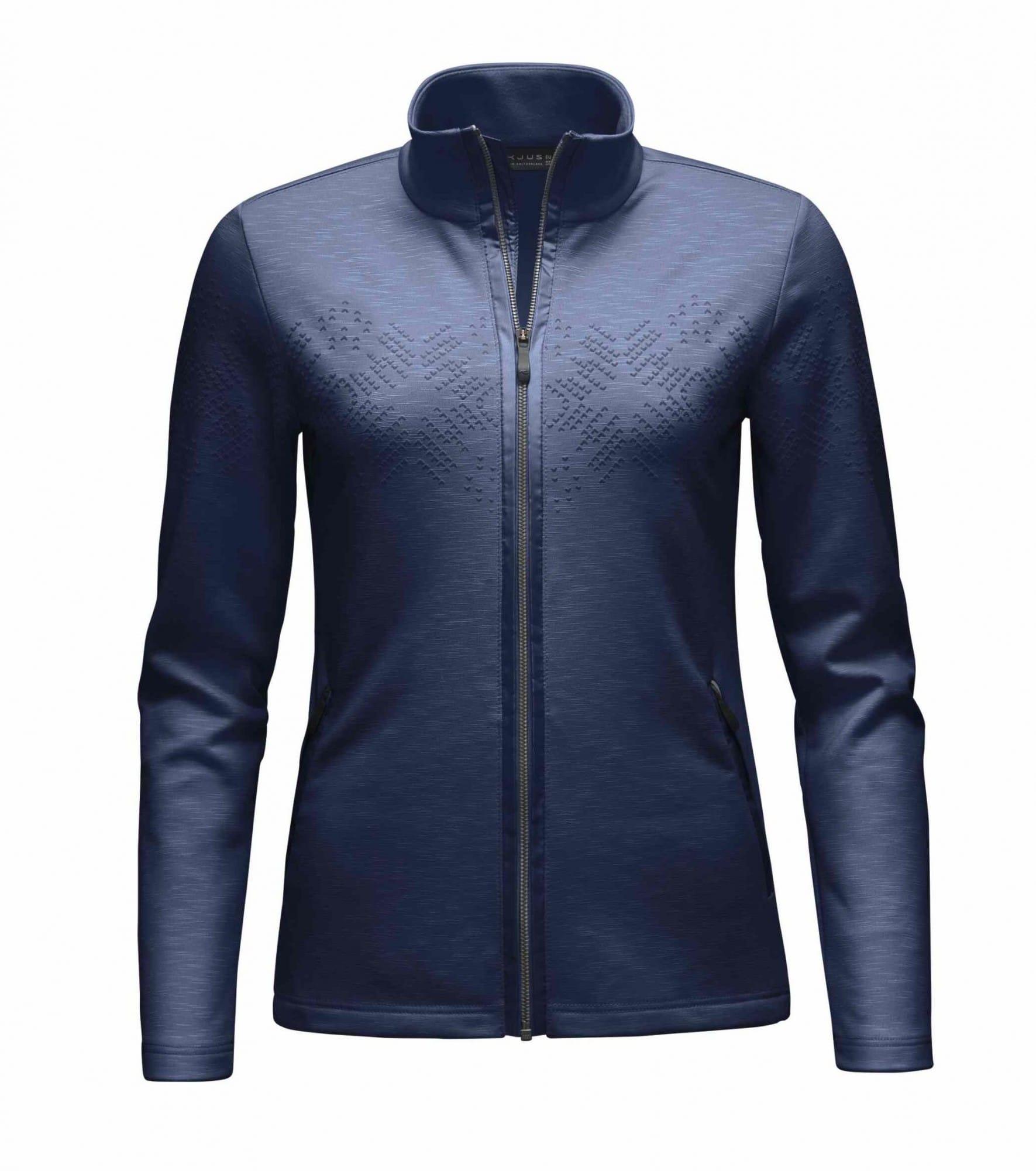 Kjus Ladies Madrisa Jacket Blau, Female Fleecejacke, 42