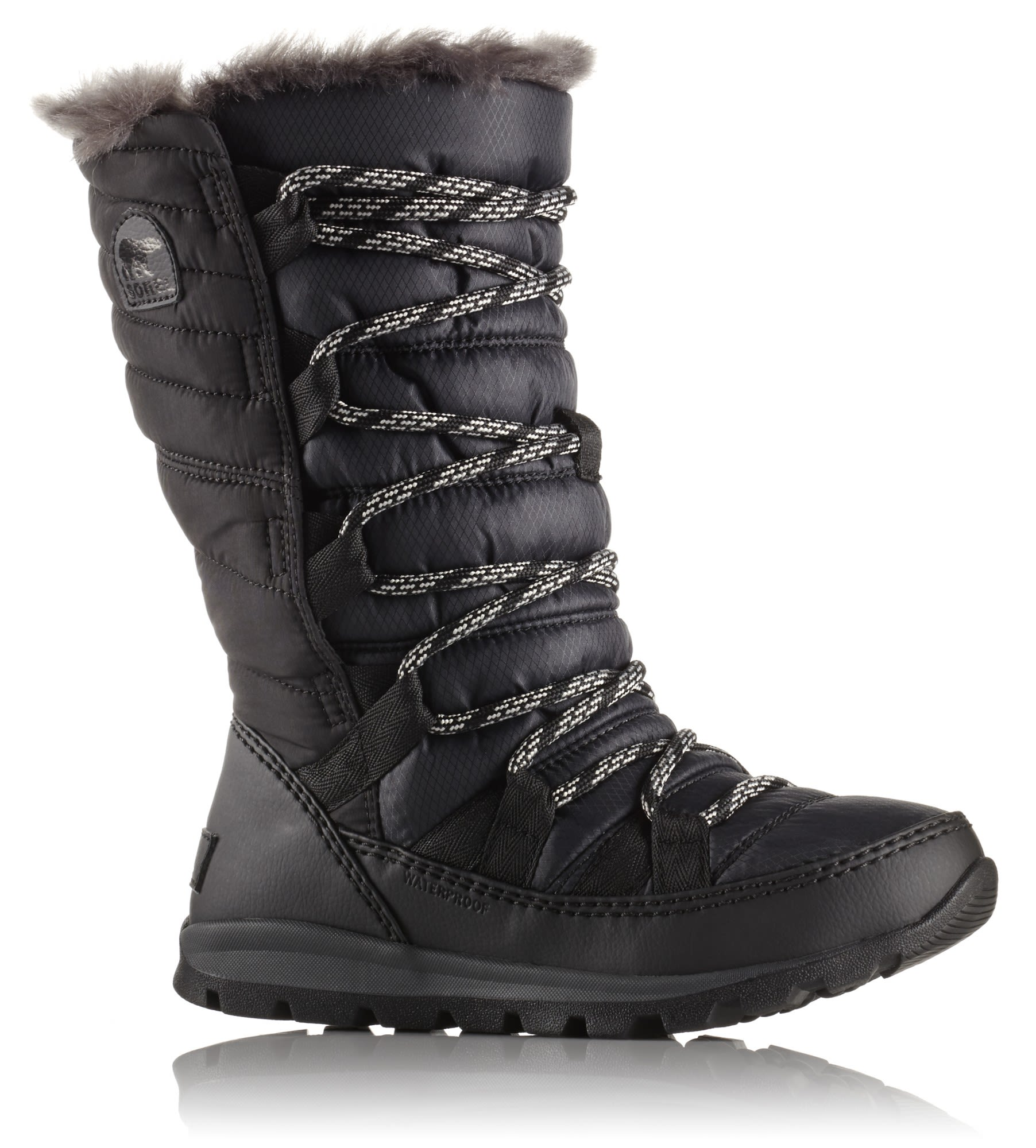 Sorel Youth Whitney Lace Schwarz, EU 32 -Farbe Black, 32