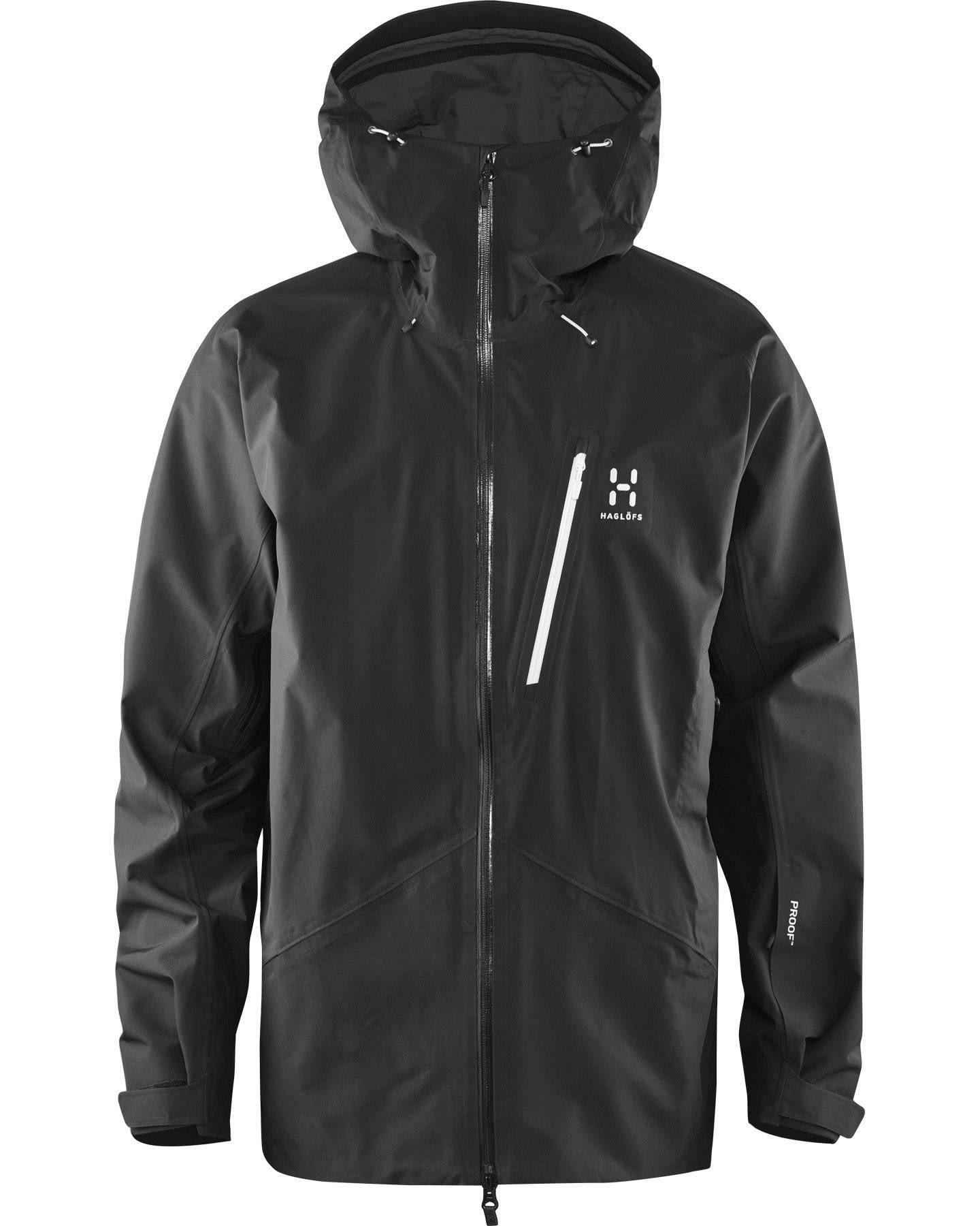 Haglöfs M Niva Jacket (Modell Winter 2017)   Größe L,XL   Herren Regenjacke