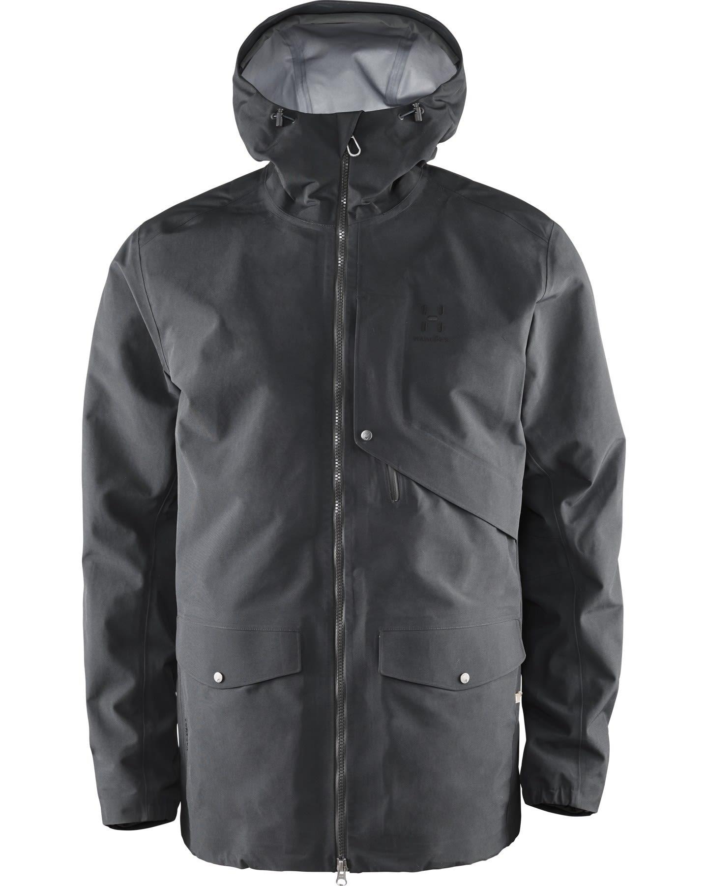 Haglöfs Selja Jacket (Modell Winter 2017) Schwarz, Male Gore-Tex® Freizeitjack