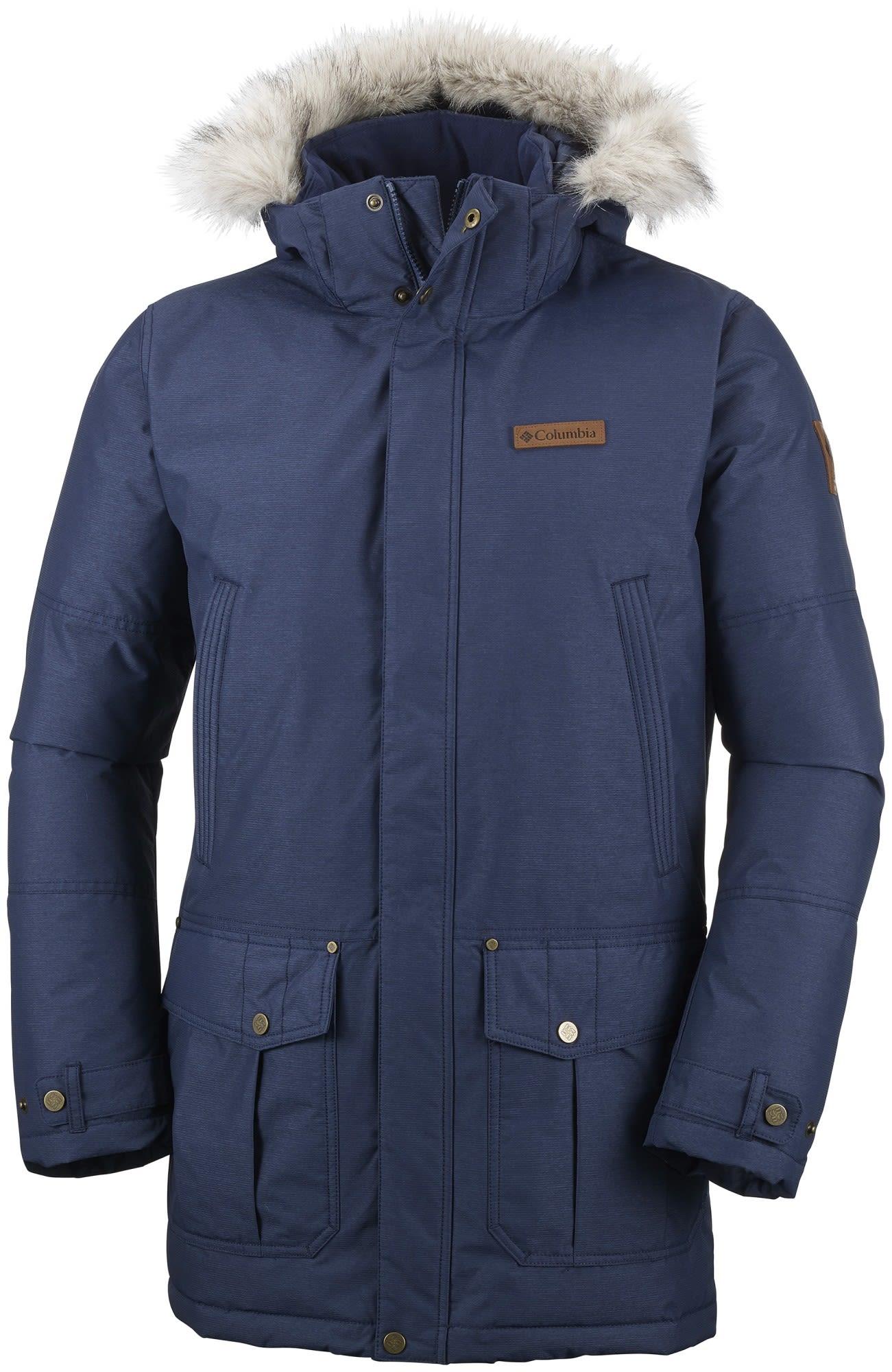 Columbia Timberline Ridge Jacket Blau, Male Daunen Daunenjacke, L