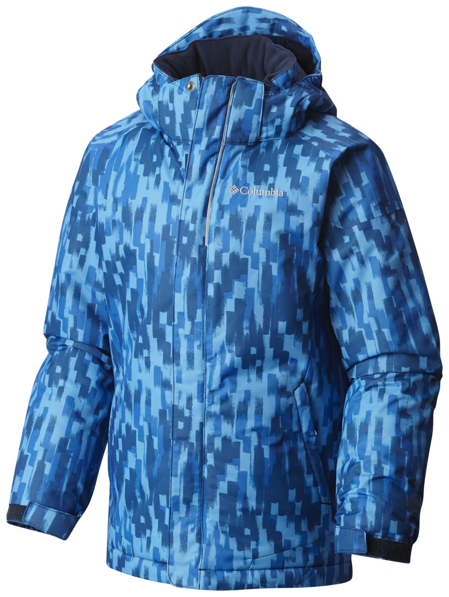 Columbia Boys Twist Tip Jacket Blau, Male L -Farbe Peninsula Brushed Strokes Pri