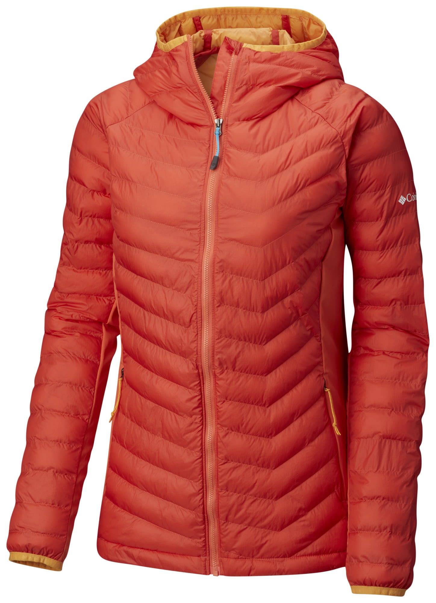 Columbia W Powder Lite Light Hooded Jacket   Größe XS,S,M,L,XL   Damen Freizei