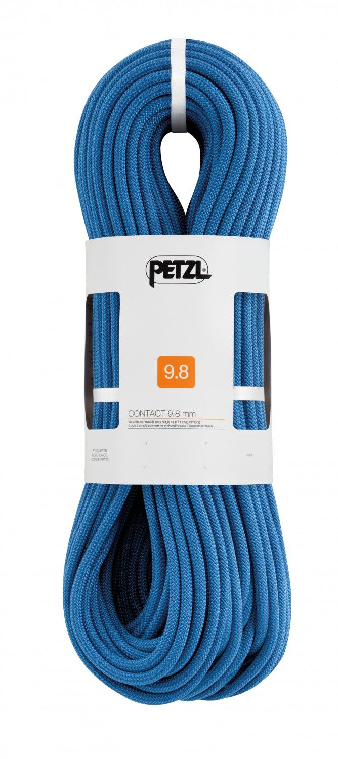 Petzl Contact 9.8MM 60M Blau, Klettern, 60 m
