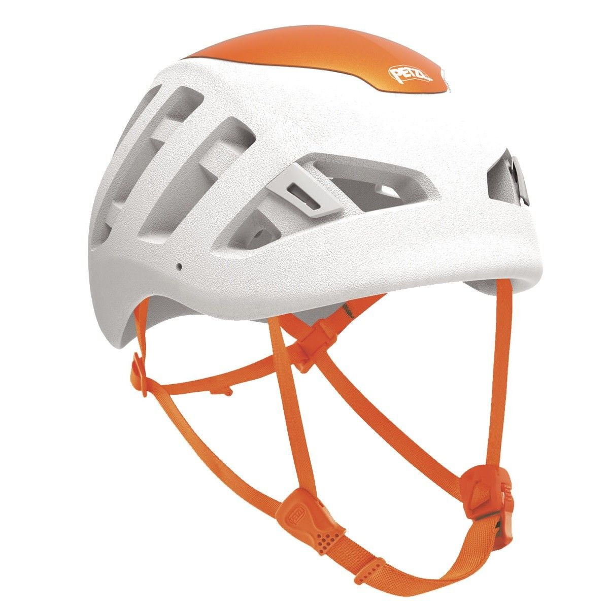Petzl Sirocco Weiß, M-L -Farbe Weiß -Orange, M-L
