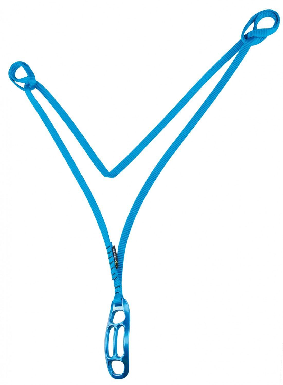 Edelrid Standplatzschlinge Deluxe Blau, Klettern, 110 cm