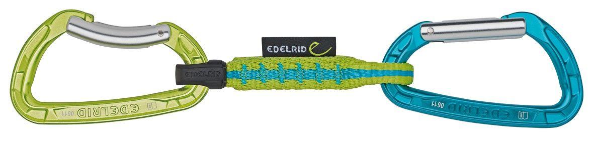 Edelrid Pure Slim Set Grün, Klettern, 10 cm