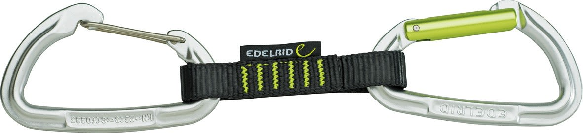Edelrid Slash Wire Set (5-Pack) | Größe 10 cm |  Karabiner & Express-Schlingen