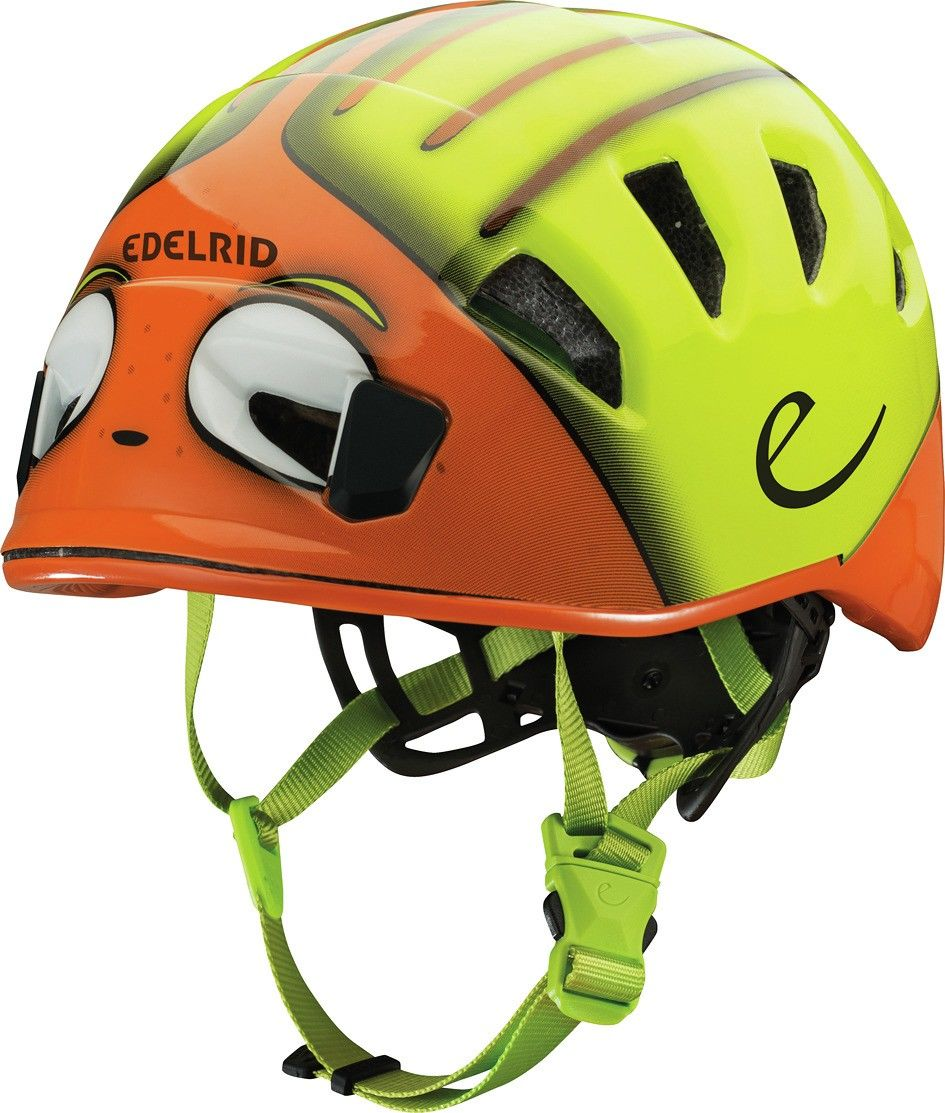 Edelrid Kids Shield II Orange, Kletterhelm, 48 -56 cm