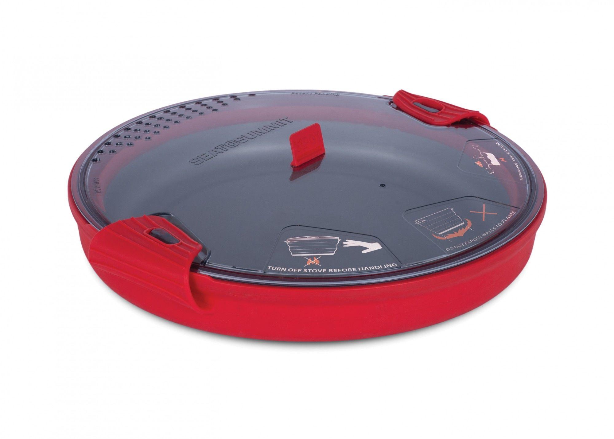 Sea to Summit X-Pot 4.0L Rot, 4l -Farbe Red, 4l