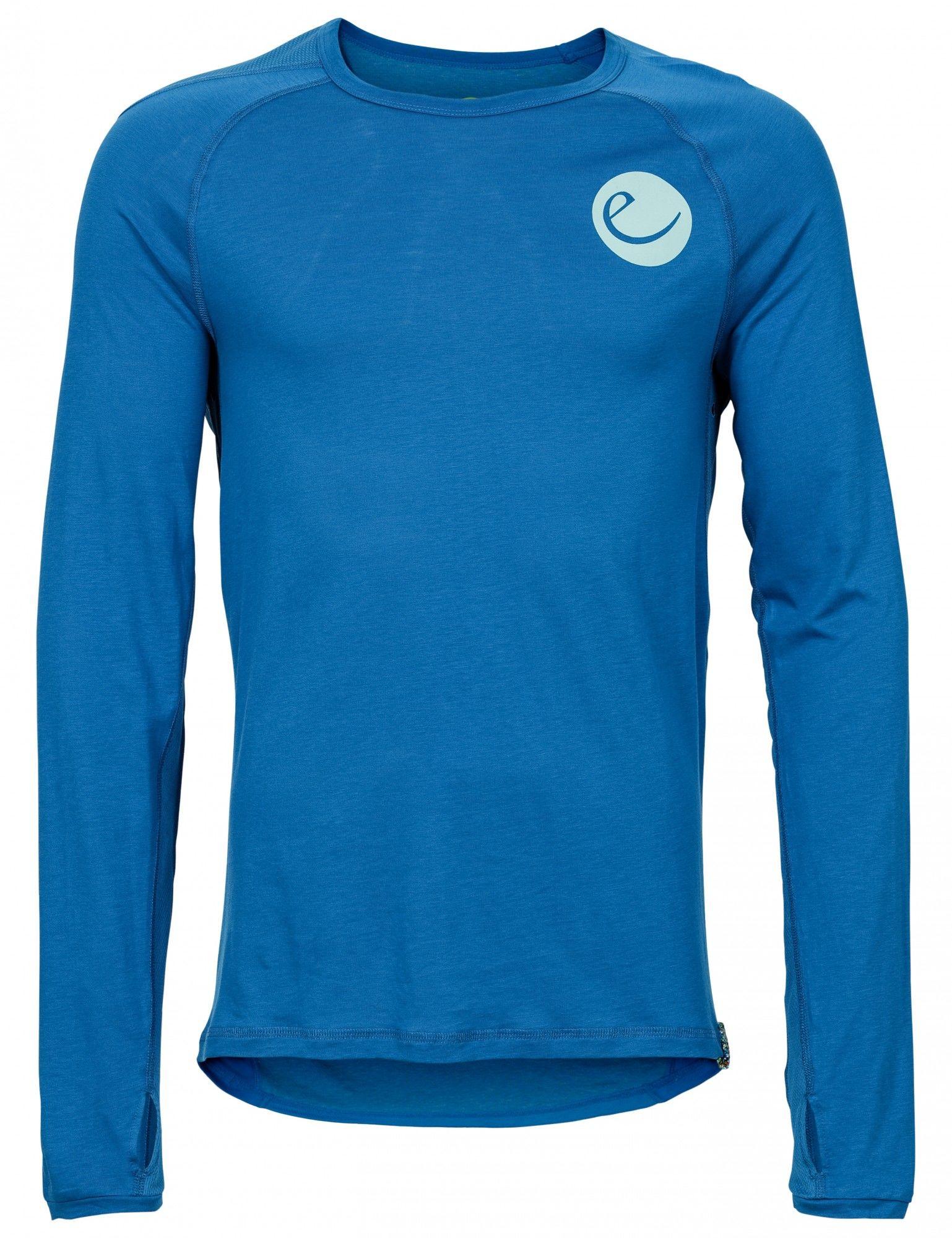 Edelrid Ascender Long-Sleeve Blau, Male Langarm-Shirt, XL