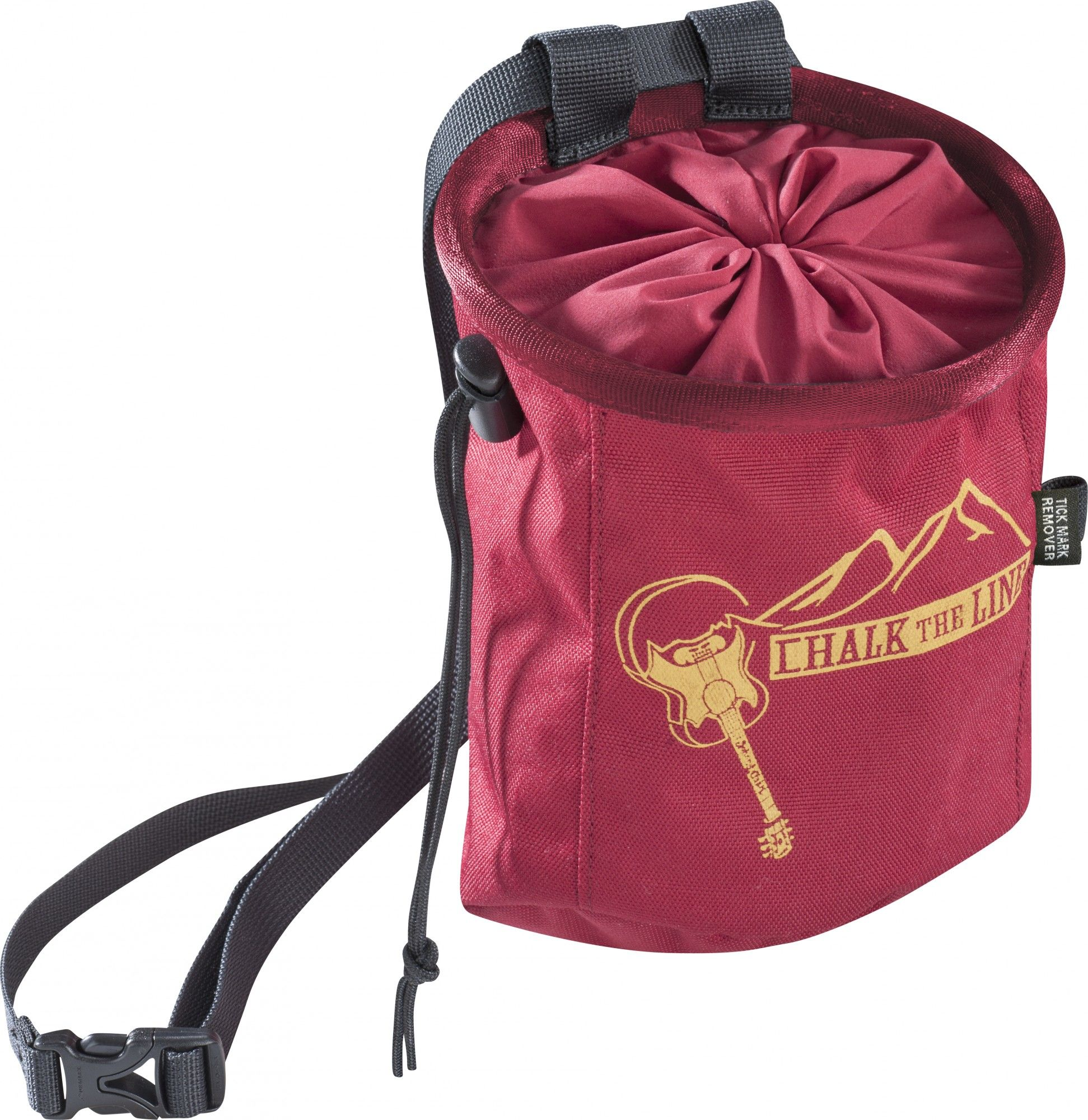 Edelrid Chalk Bag Rocket Rot, Klettern, One Size