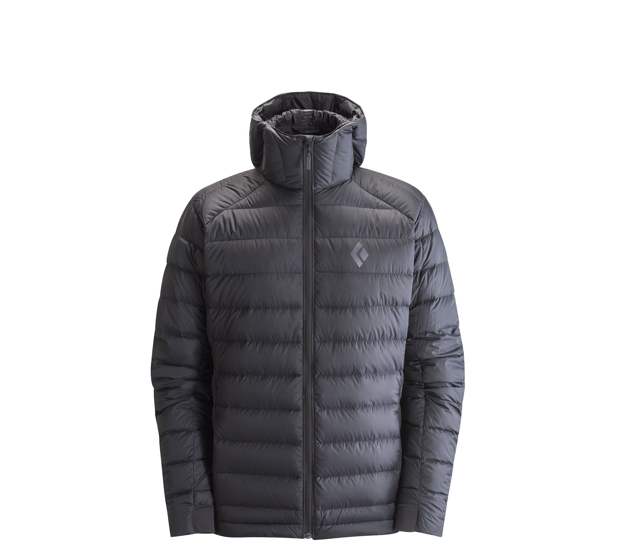 Black Diamond Cold Forge Hoody Schwarz, Male Daunen Daunenjacke, L