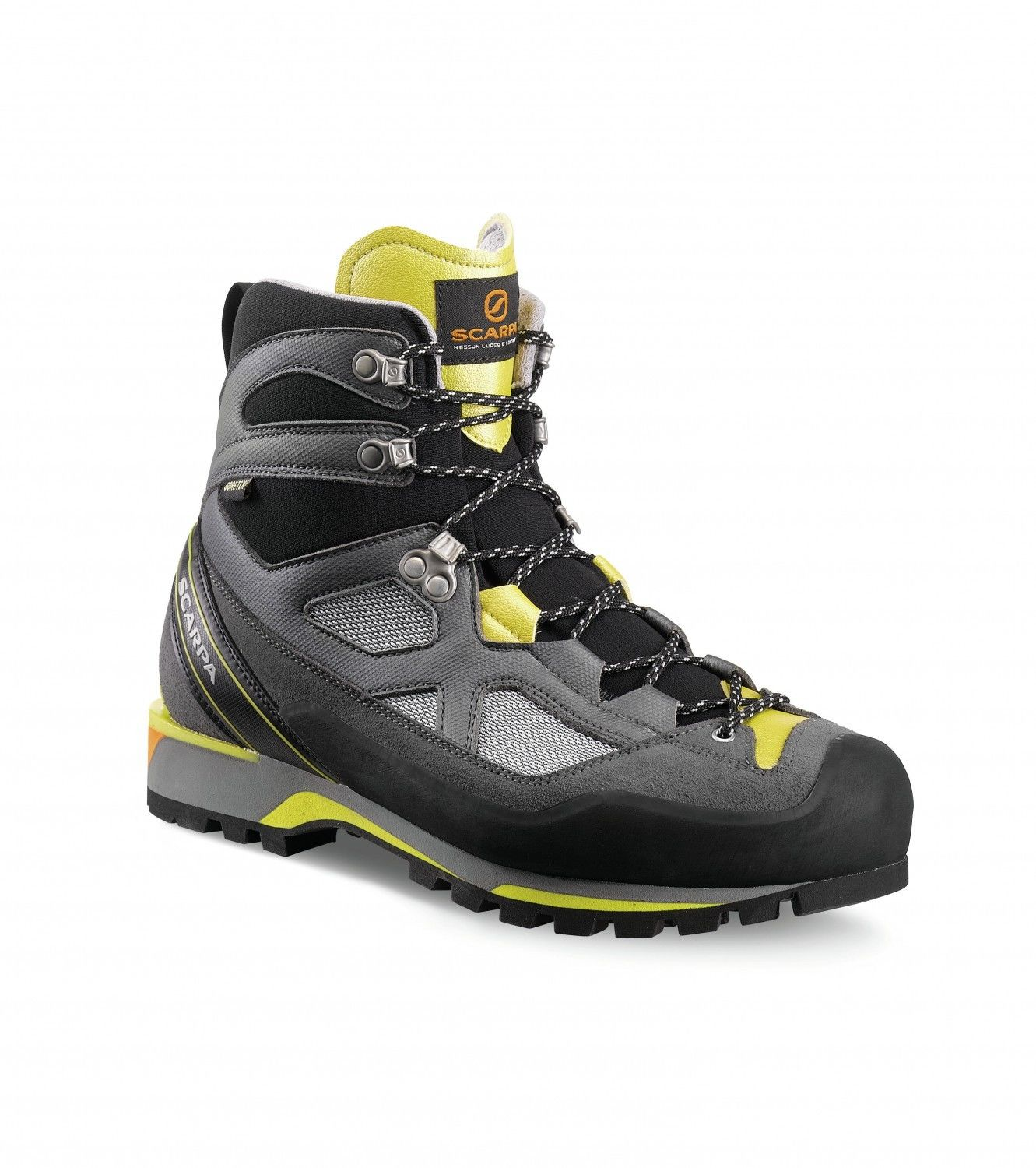 Scarpa Rebel Lite Gtx® Grau, Male Gore-Tex® EU 43.5 -Farbe Gray -Lemon, 43.5