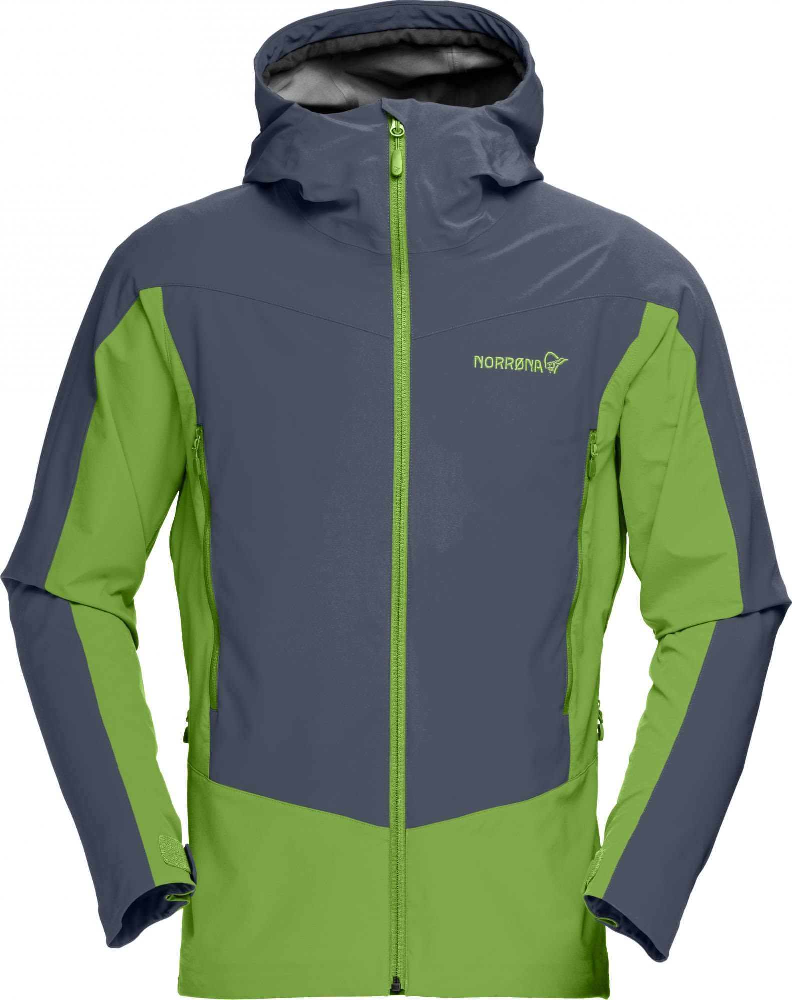Norrona Falketind Windstopper Hybrid Jacket Schwarz, Male L -Farbe Cool Black, L