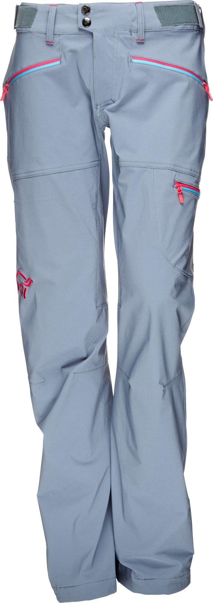 Norrona Falketind Flex1 Pants Grau, Female L -Farbe Bedrock, L