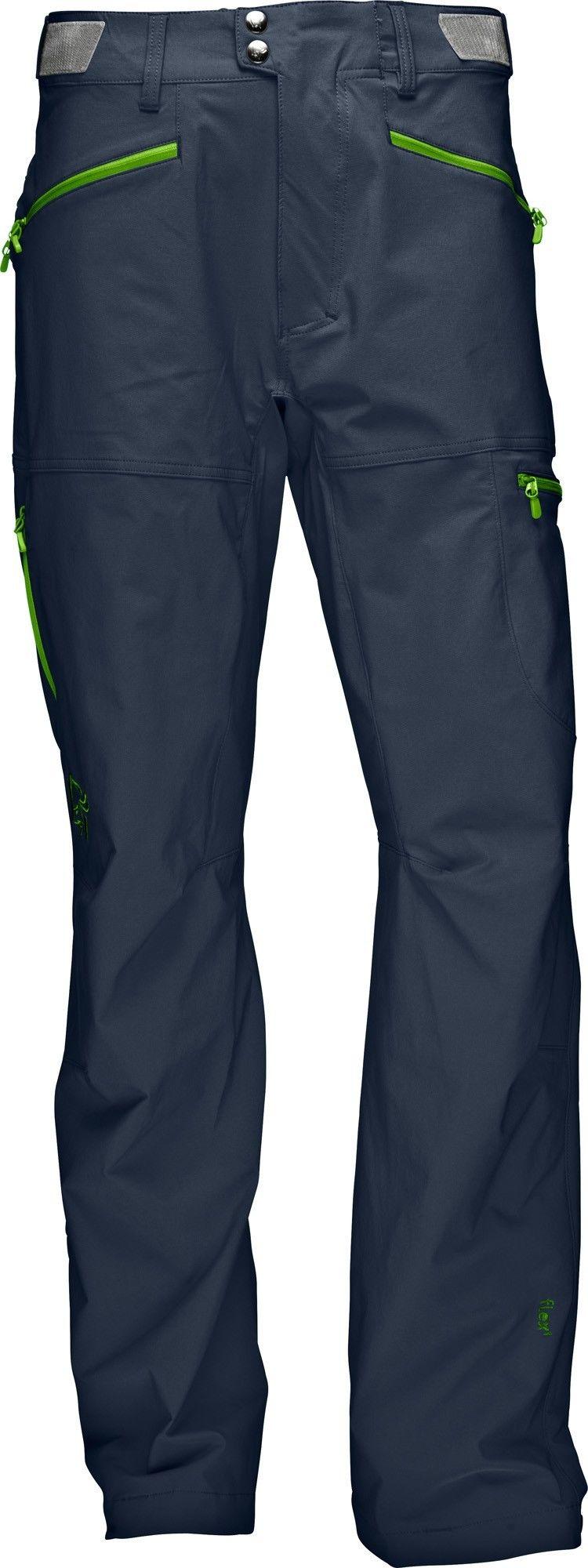 Norrona Falketind Flex1 Pants Blau, Male XL -Farbe Cool Black, XL