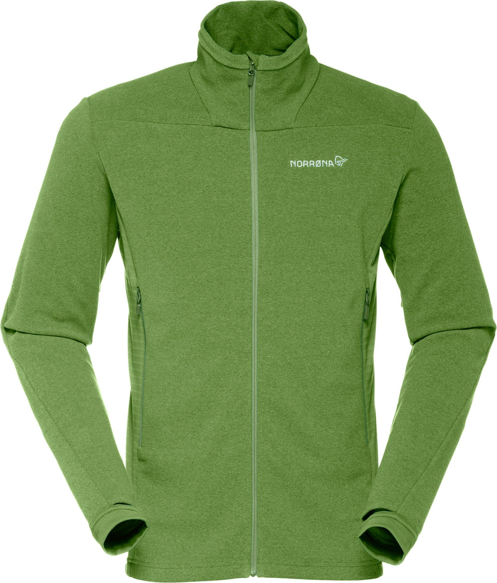 Norrona Falketind Warm1 Jacket Grün, Male Polartec® Fleecejacke, S