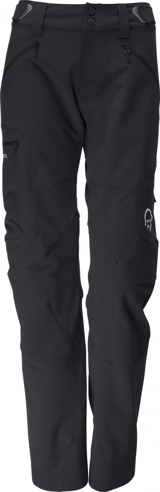 Norrona Svalbard Flex1 Pants Schwarz, Female Hose, L