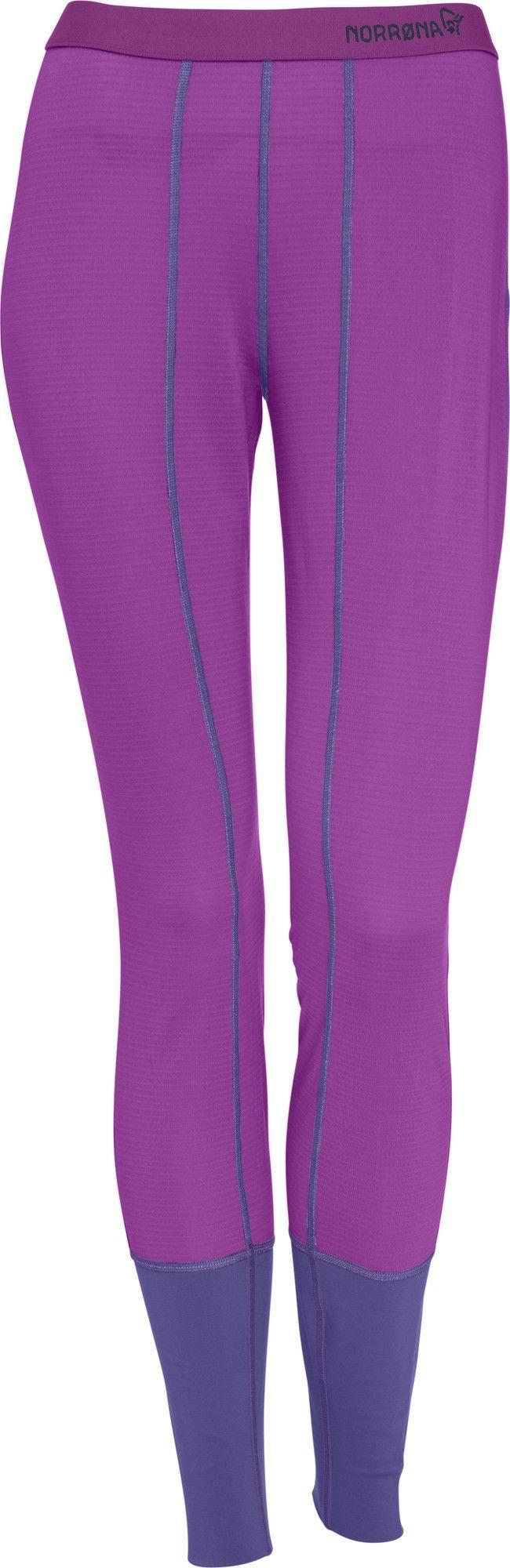 Norrona Super Longs Lila/Violett, Female Polartec® S -Farbe Royal Lush, S