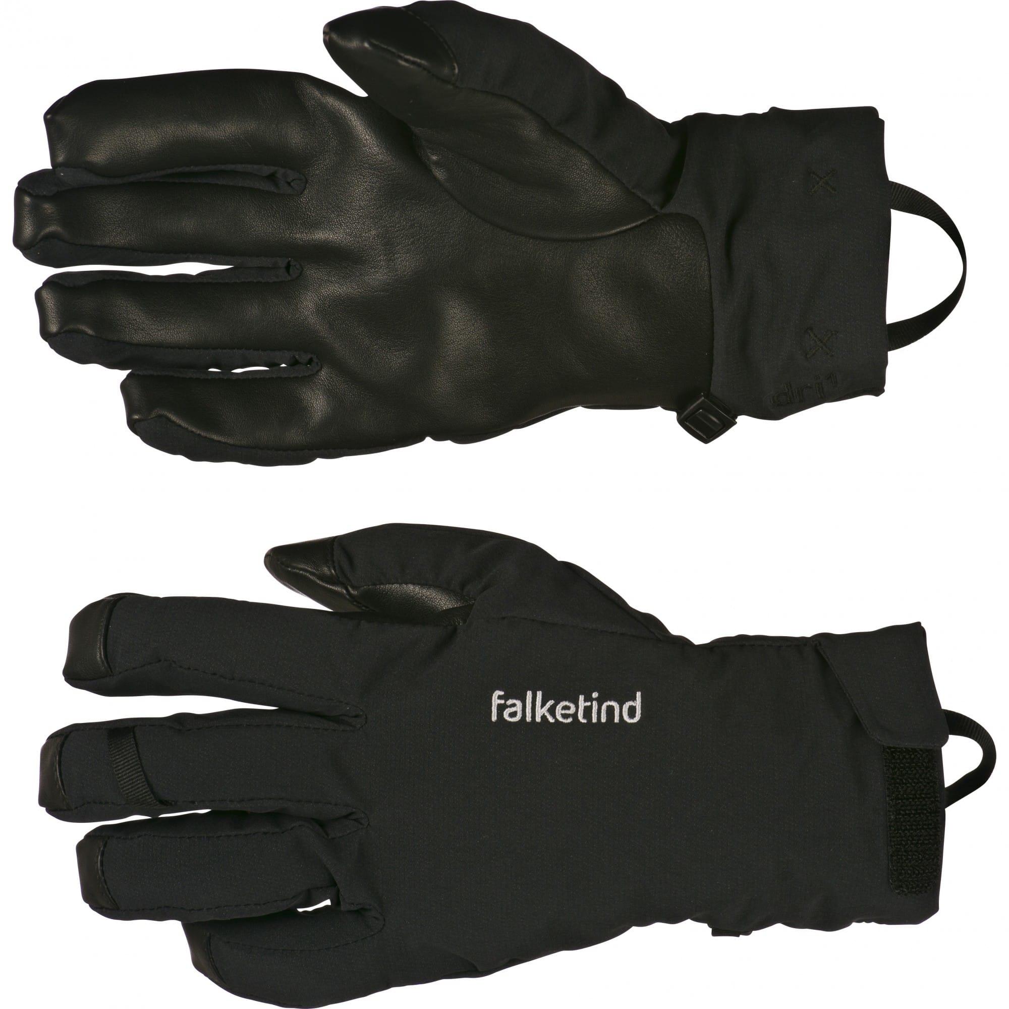 Norrona Falketind DRI Short Gloves Schwarz, Accessoires, L