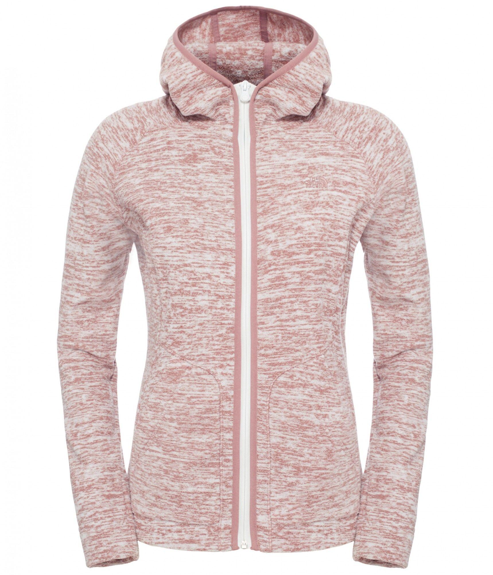 The North Face W Nikster Full Zip Hoodie | Größe XS,S,M,L,XL | Damen Fleecejac