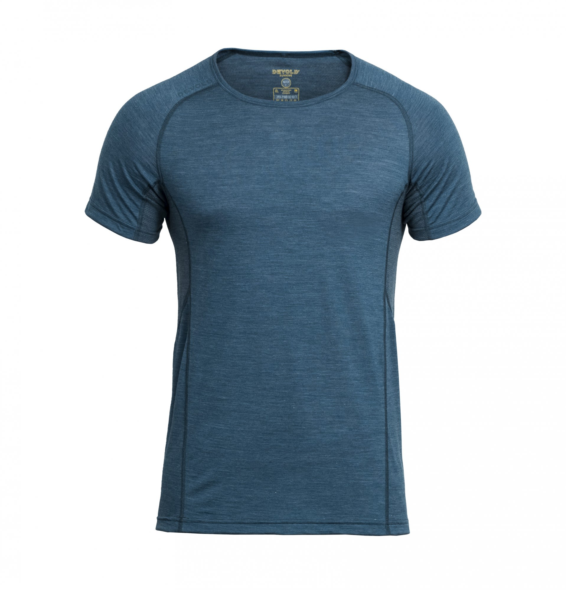 Devold Running MAN T-Shirt Blau, Male Merino XL -Farbe Subsea, XL
