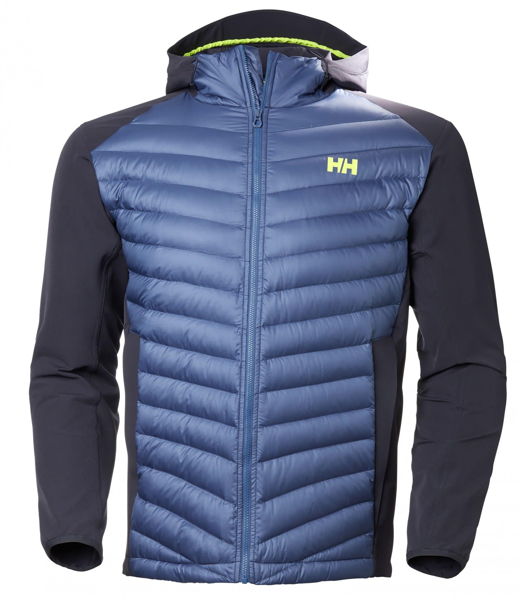Helly Hansen Verglas Light Jacket Blau, Male Daunen Isolationsjacke, L