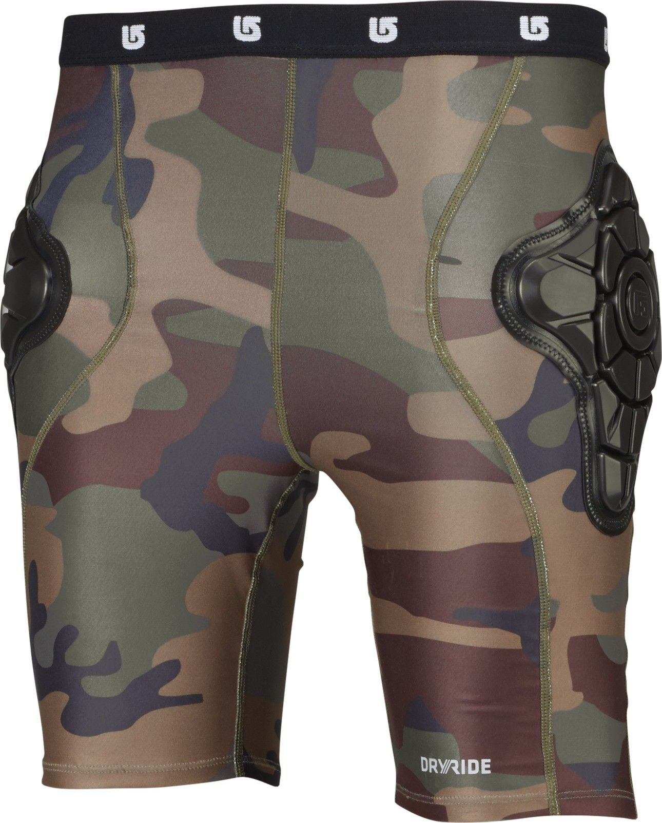 Burton Kids Total Impact Short Protected by G-Form™ Braun, S -Farbe Highland C