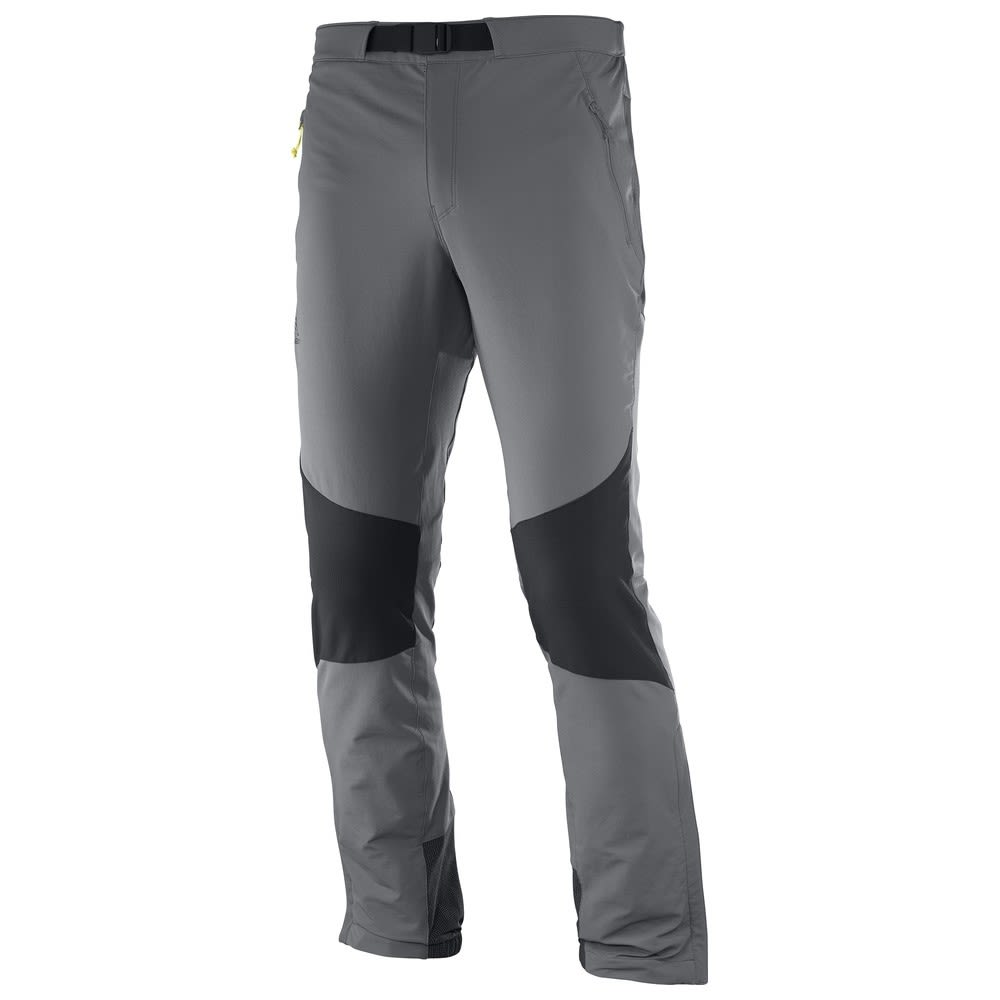 Salomon Wayfarer Mountain Pant (Modell Sommer 2018) Grau, Male 52 -Farbe Forged