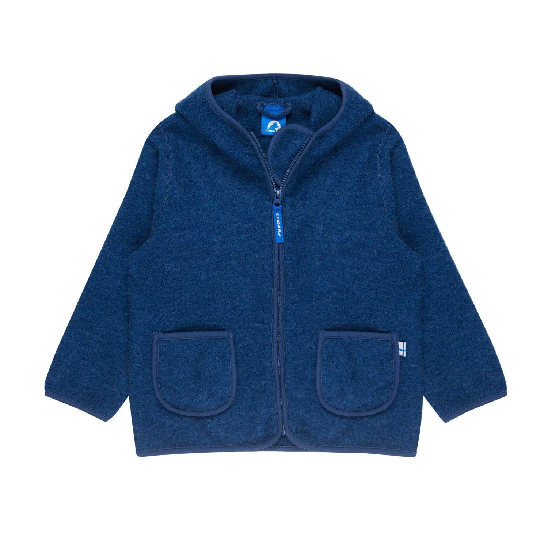 Finkid Tonttu Wool Blau, Merino 90 -100 -Farbe Denim Melange, 90 -100