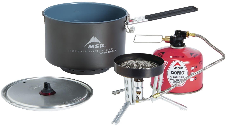 MSR Windburner Gruppen-Kochersystem | Größe One Size |  Gaskocher