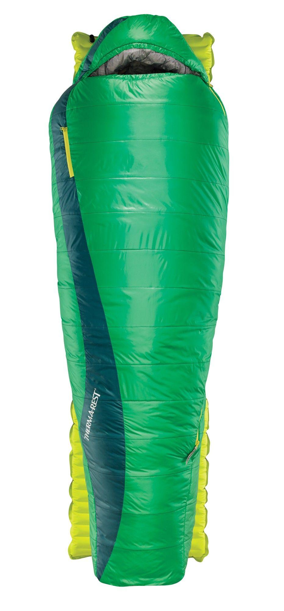 Therm-a-Rest Saros Long | Größe 216 cm - RV links |  Kunstfaserschlafsack