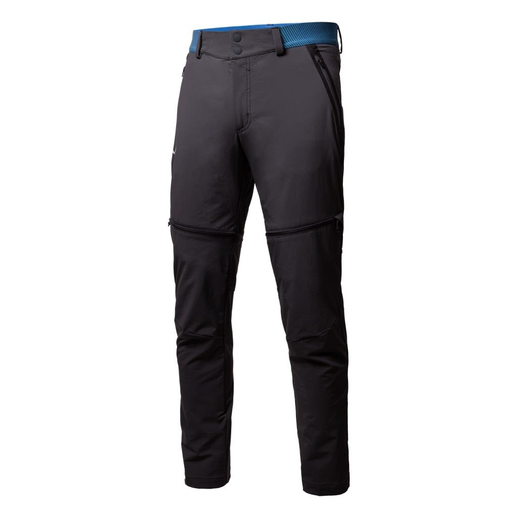Salewa Pedroc Durastretch Convertible Pant (Modell Sommer 2018) Grau, Male XL -F