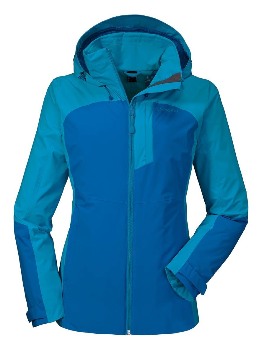 Schöffel Zipin! Jacket Alyeska (Modell Winter 2017) Blau, Female Freizeitjacke,