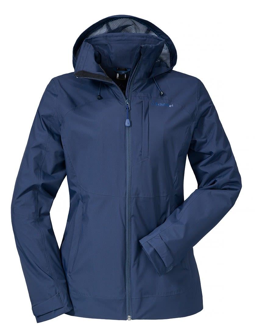 Schöffel Zipin! Jacket Alyeska (Modell Winter 2017) Blau, Female 42 -Farbe Navy