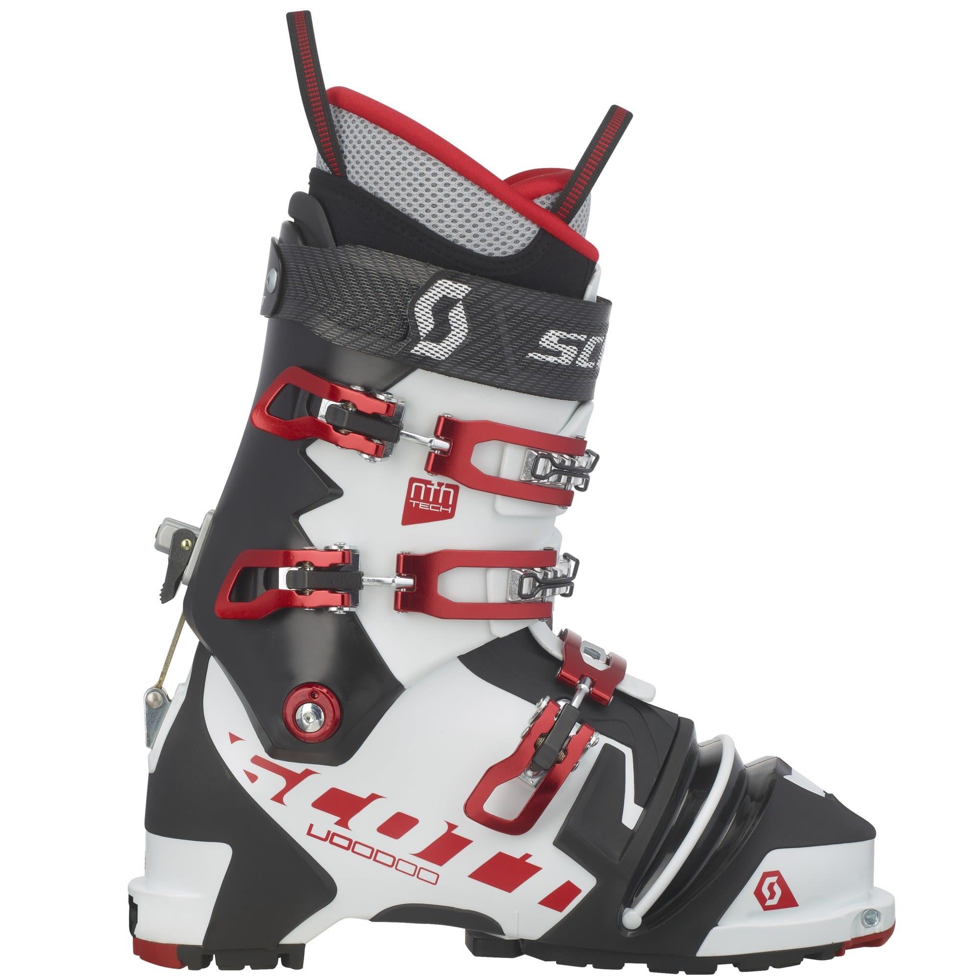 Scott Voodoo Ski Boot NTN Schwarz, Male EU 44 -Farbe White -Black, 44
