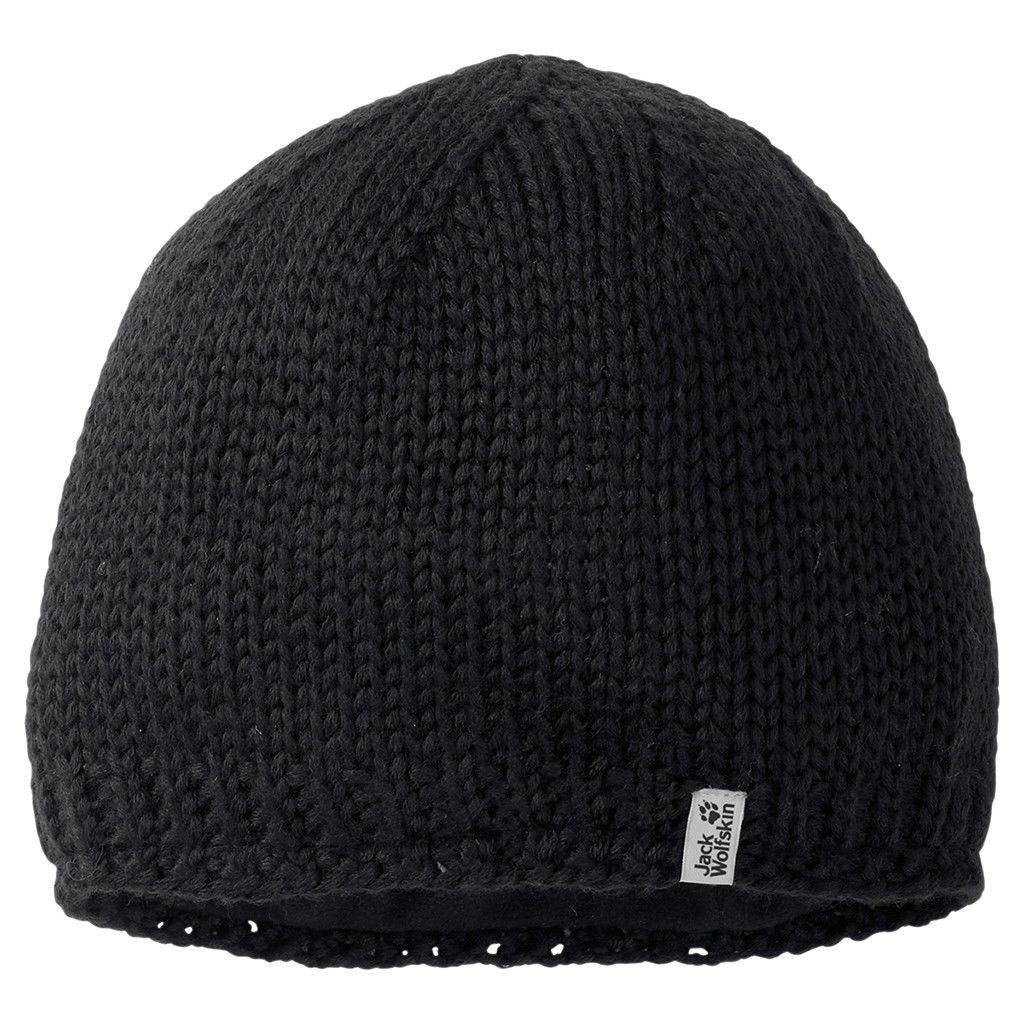 Jack Wolfskin Stormlock Knit Cap Schwarz, L -Farbe Black, L