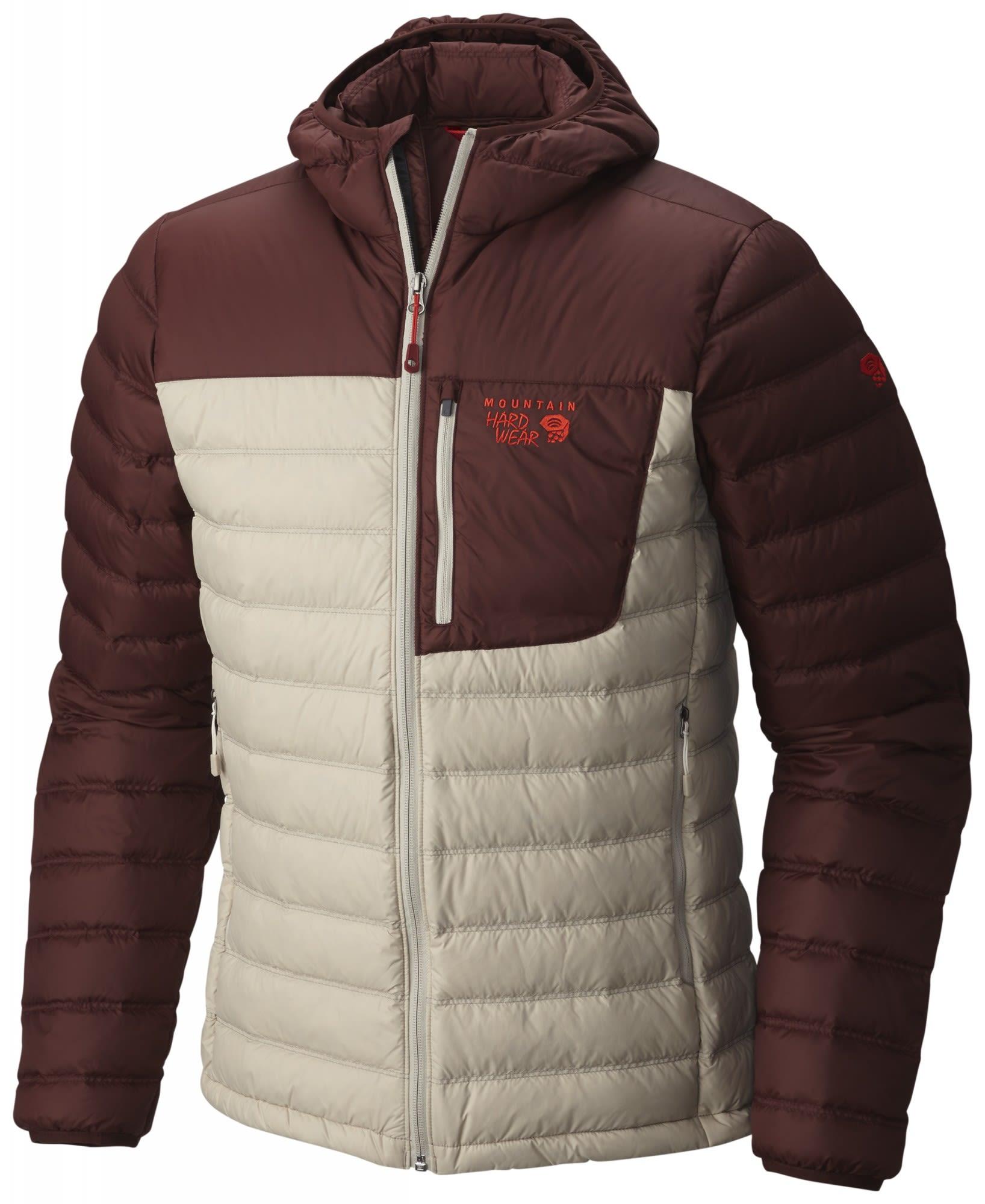 Mountain Hardwear M Dynotherm Down Hooded Jacket | Größe S,L | Herren Daunenja