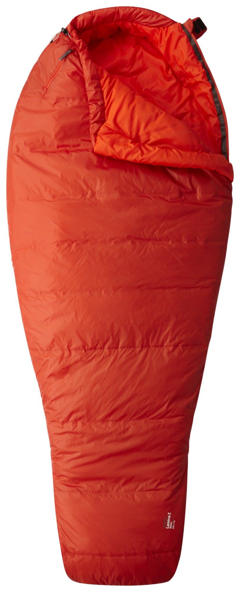 Mountain Hardwear Lamina Z Spark Long Rot, 213 cm -RV links -Farbe Flame, 213 cm