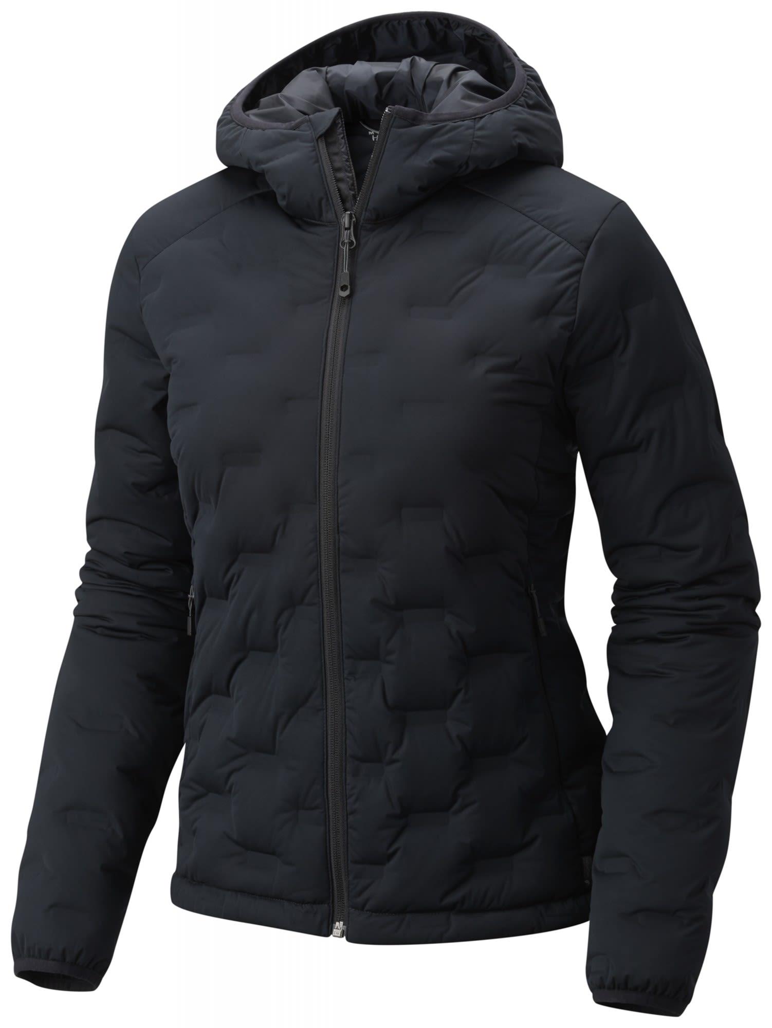 Mountain Hardwear Stretchdown DS Hooded Jacket Schwarz, Female Daunen S -Farbe B