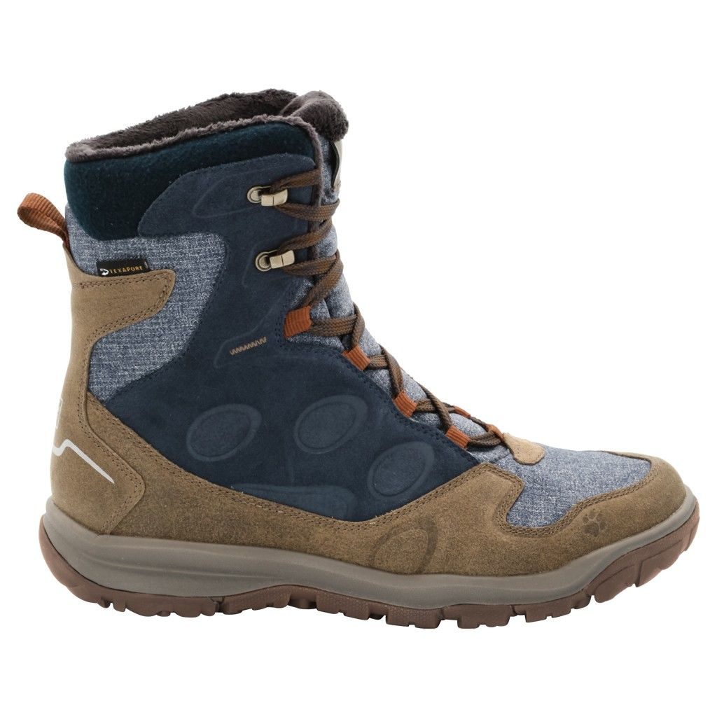 Jack Wolfskin Vancouver Texapore High Blau, Male EU 39.5 -Farbe Night Blue, 39.5